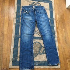[ True Religion ] Mens Straight Leg Jeans